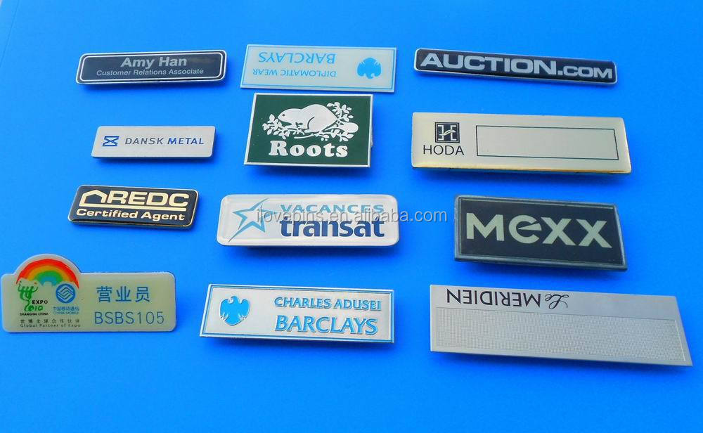 office name badges - Parfu kaptanband co