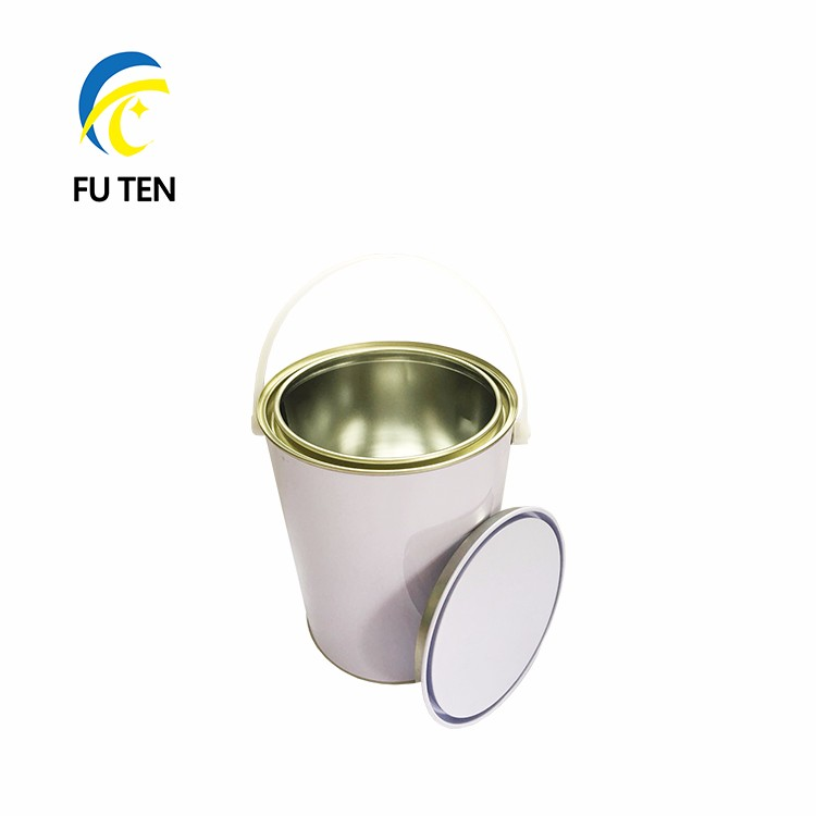 1 Gallon Empty Metal Clear Paint Tin Cans With Pry Lids And Plastic Handle Buy 1 Gallon Clear Paint Can Paint Metal Can Metal Tin Can Screw Top
