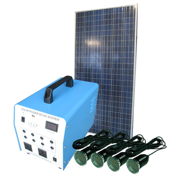 Household Appliances Use 500W solar powered Off grid solar system