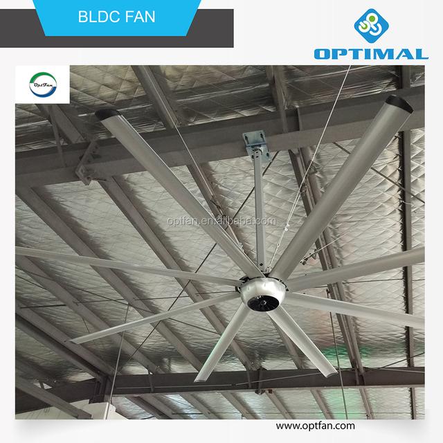 Opt 8 14ft Bldc Motor Best Hvls Ceiling Fan