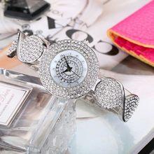 Женские кварцевые часы MISSFOX, Круглые Наручные часы золотого цвета с алмазным декором, рождественский подарок(Китай)