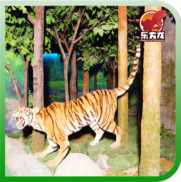 Forest animatronic Animal Life Size Tiger Model