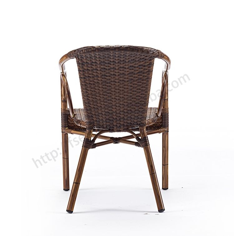 Wholesale all weather stackable outdoor furniture rattan papasan chair with a