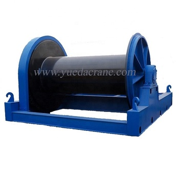 JM model low speed wire rope electric winch