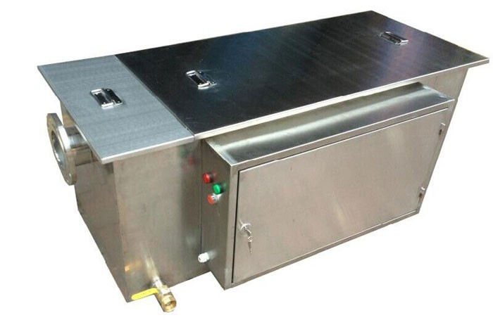 Restaurant stainless steel automatic grease trap for oil