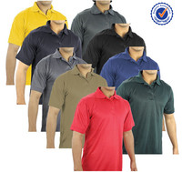 95% Polyester 5% Spandex Polo Shirts For Men