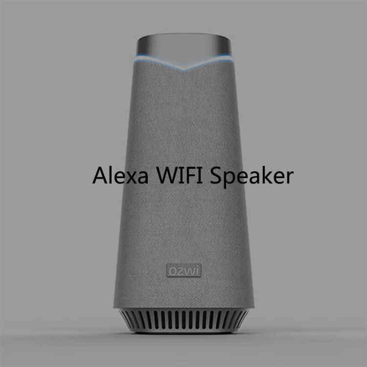 Portable Waterproof Amazon Alexa Voice Control Wi-Fi BT Wireless Speaker
