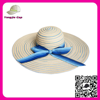 picked up for whole family official images Manufacturer Lady Straw Beach Hats Wide Brim Floppy Colourful Craft Straw  Hats Wholesale - Buy Craft Straw Hats Wholesale,Craft Straw Hats ...
