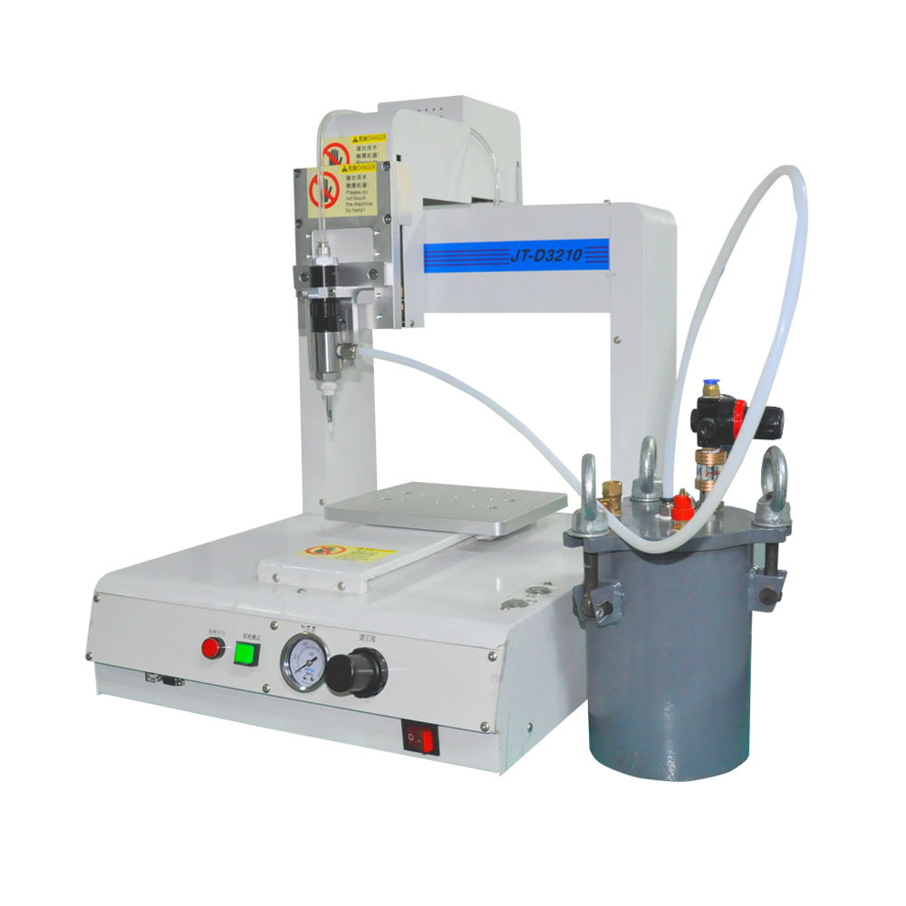 2 Parts Epoxy Resin Automatic Glue Dispensing Robot Machine - Buy Top  Quality Intelligent Automatic Glue Dispenser Robot Machine,High Quality