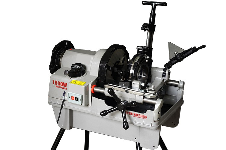 ZT-100F-B 1/2-4 Portable Electric Automatic Steel Pipe Rex Threading Machine With Pipe Cutter