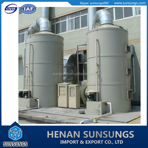 gas treatment tower/exhaust tower/waste gas treatment system