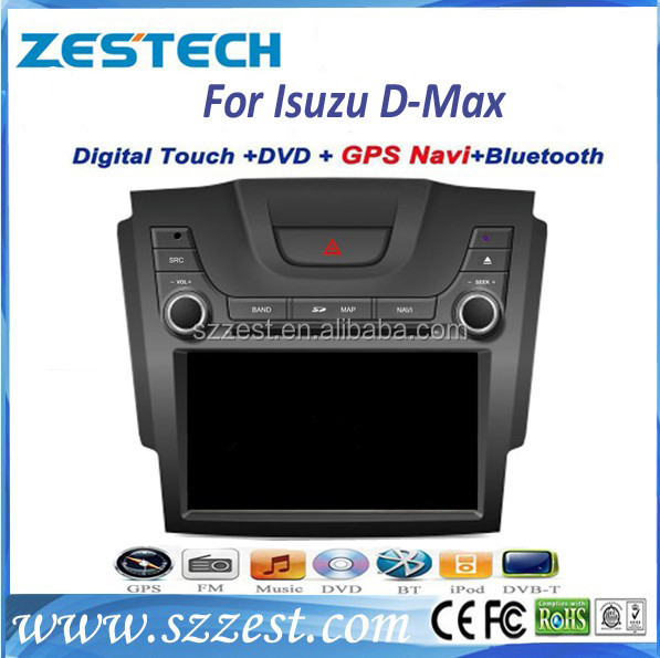 ZESTECH car accessories for ISUZU D-MAX car dvd gps