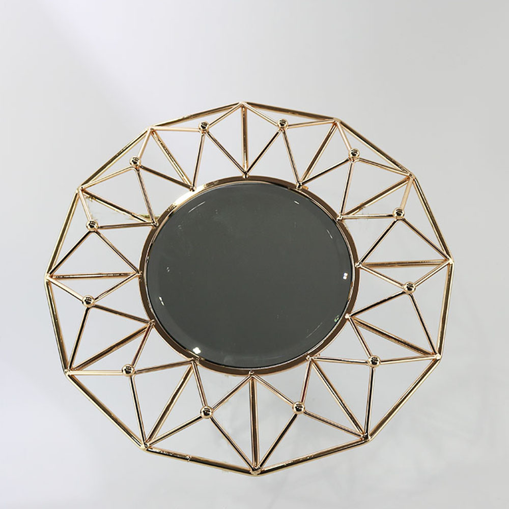 Hot Selling cheap hot sale fancy round mirror glass