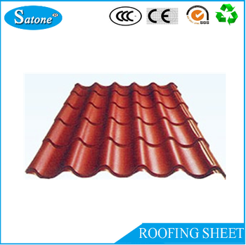 Nice Building Materials Different Types Corrugated Metal Roofing Sheets Colorful  For Sale