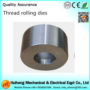 2017 hot selling high precision thread rolling dies pipe thread rolling dies