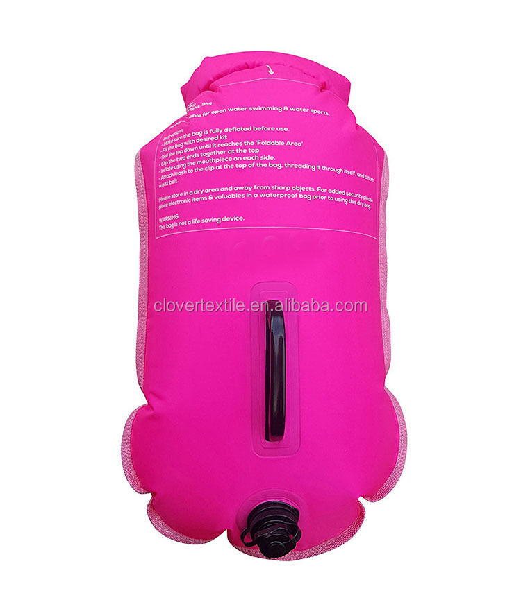 Inflatable Triathlon Swimming Club Open Water Swim Tow Safety Buoys
