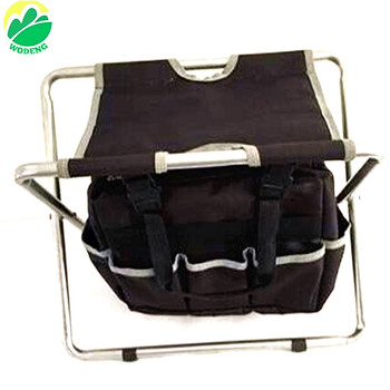 Astounding Garden Portable Folding Stool Chair With Storage Bag With 3Pcs Tools Set Garden Tools Set With Bag Buy Garden Portable Folding Stool Chair With Ibusinesslaw Wood Chair Design Ideas Ibusinesslaworg