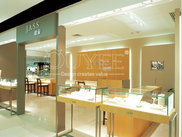 Best Wall Showcase Design Retail Branding Jewelry Shop Names For