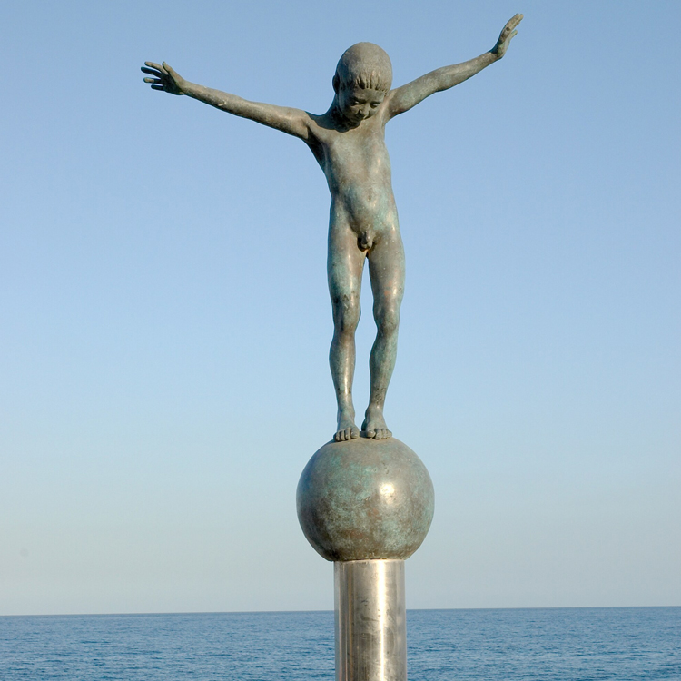 Bronze Boy Statue Lovely Figure Product On Alibaba