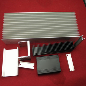 Anodized aluminum electronic enclosure aluminum heatsink extrusion profile