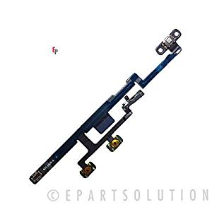 ePartSolution-iPad Mini 3 3rd Gen Power Button ON / OFF Switch Power Volume Button Flex Cable Replacement Part USA Seller