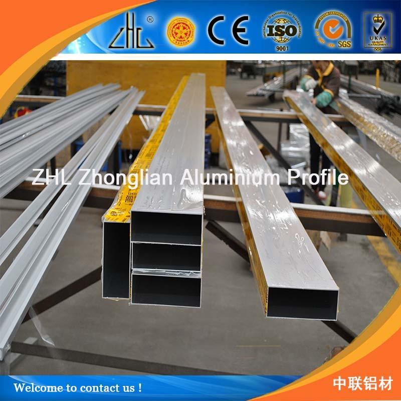 Bueno aluminio 6061 t6 telesc pica redonda tubo tubo - Perfil cuadrado aluminio ...