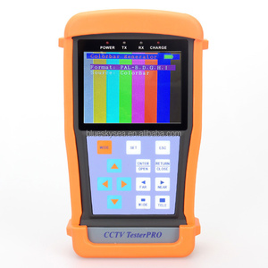 "3.5"" 720P/960P AHD CVBS CCTV Camerportable CCTV Test monitorTest PTZ Control Cable Tester RS485 12V-Out"