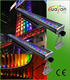 dj lights RGBW LED color wall washer 72x3W led wall wash led exterior building lights/ led light bar