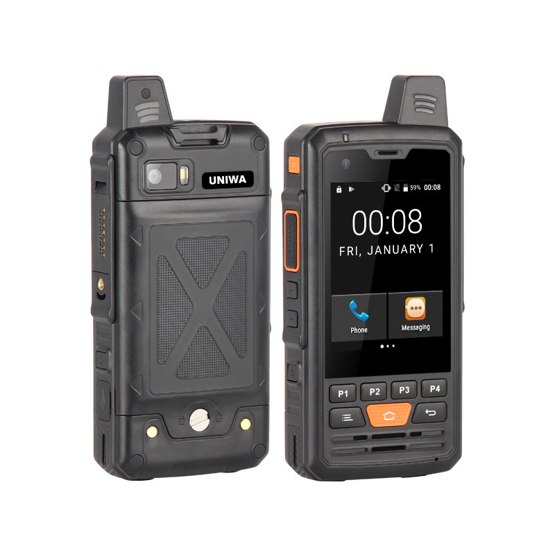 2.8 Inch Screen 4G Zello POC Walkie Talkie With 4000mAh Big Battery Belt Chip Mobile Phone