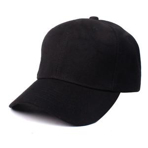 b33579362f1843 Man black blank baseball cap unisex polyester sun visor hat outdoor sport  cap EA092