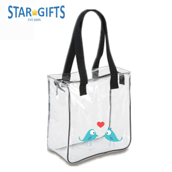 Clear Ping Bag Security Work Tote Shoulder Product On