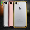 smart phones cell phone electroplating cover for iPhone 7 smartphone electroplate shell