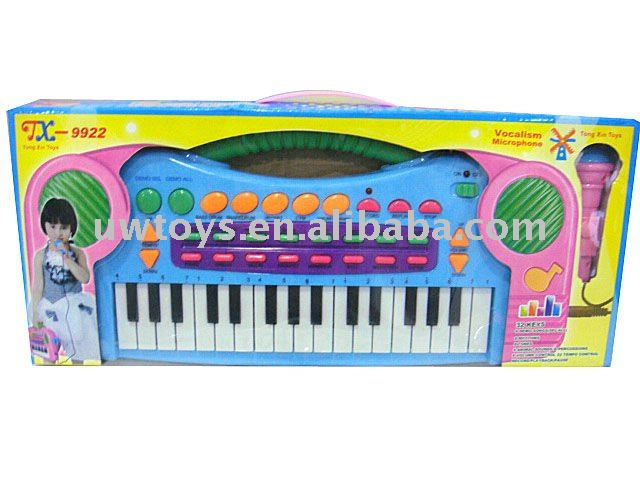 Education for kid to play with musical instrument keyboard(UW1043766)