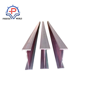 Cheap Price Hot Rolled Steel Structural Q235 H Shaped Galvanized Steel Beams Used for Construction / Iron H Beam