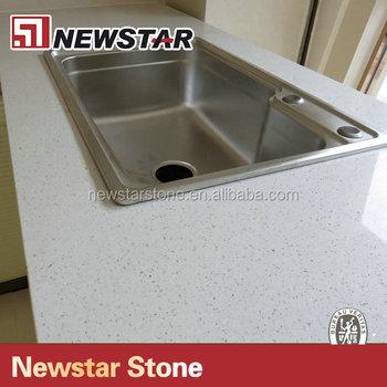 Newstar Kristal Putih Quartz Kitchen Worktops Quartz Worktop Buy
