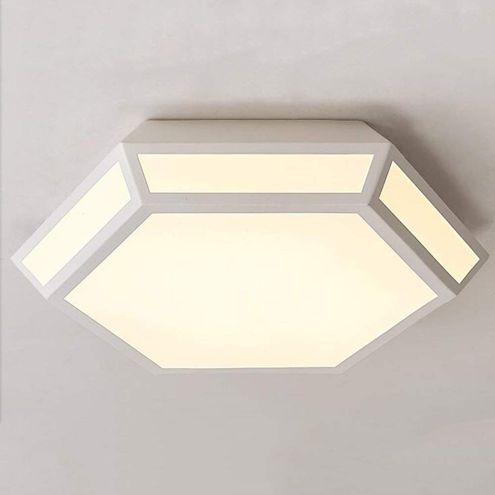 XQY Ceiling Light-Iron Acrylic Shade Led Modern Simplicity Bedroom Lamps - Energy Saving
