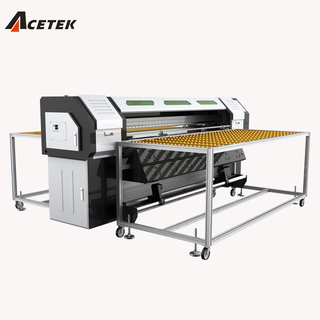 Glass/wood/metal printing machine/Glass UV 3.2m hybrid printer