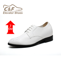 High class height increasing white wedding shoes spain shoes/high heel shoes men india/buy shoes online