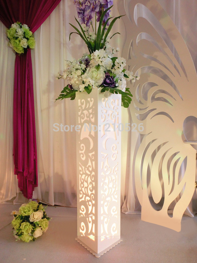 Popular Decorative Wedding Pillars Stands Flowers Buy