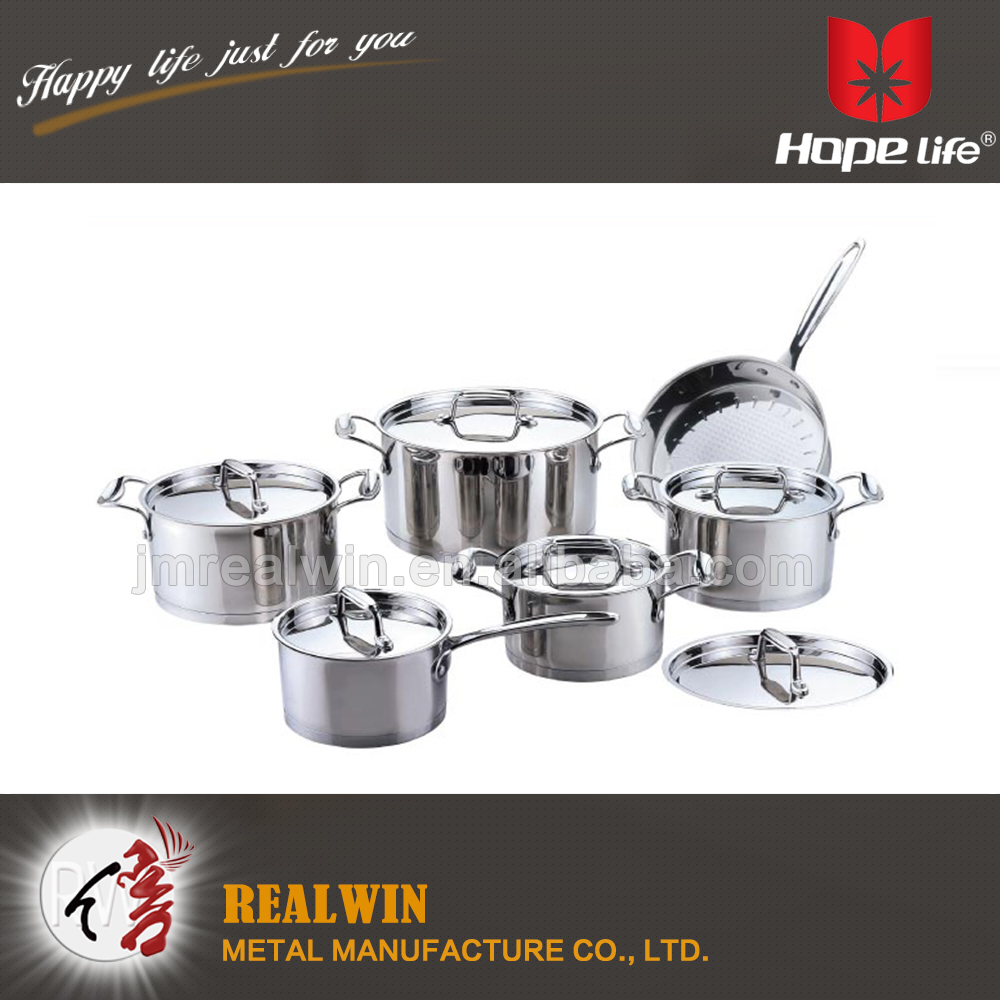 China supplier high qualitycast iron soup pot kitchen cookware sets