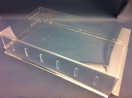 Custom Big discount plexiglass acrylic shoe box with store