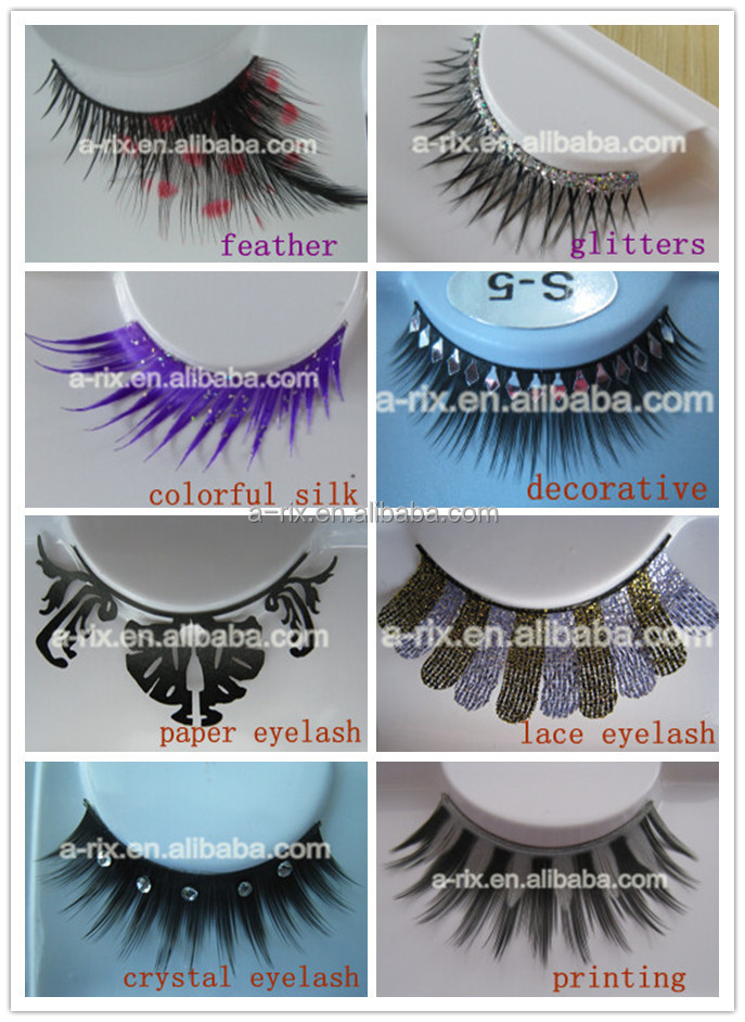 No.40 Ombre Colorful Eyelash Extension Vetus Tweezer Collagen Eye ...