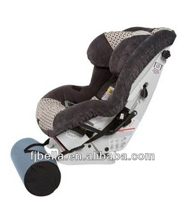 Round Shape Polyurethane Foam Baby Kids Car Seat Footrest Blue