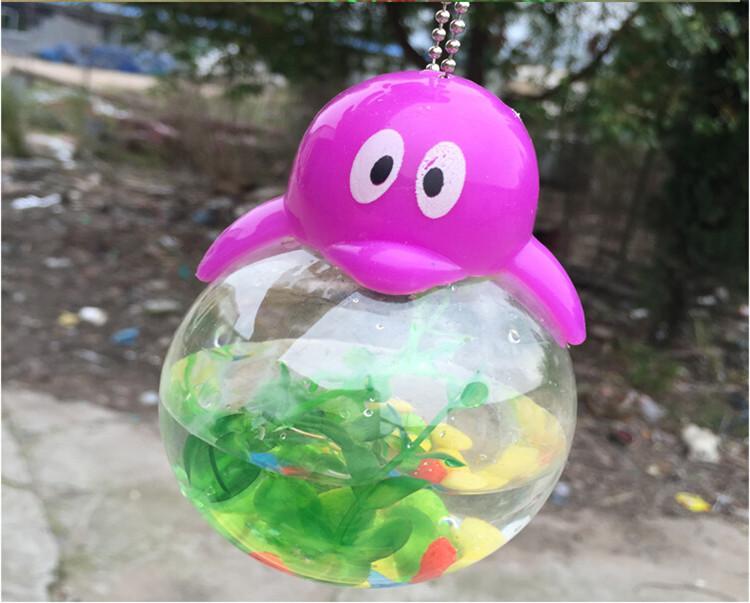 Aquarium Portable Mini Bottle Goldfish Turtle And Tadpole Tank For ...