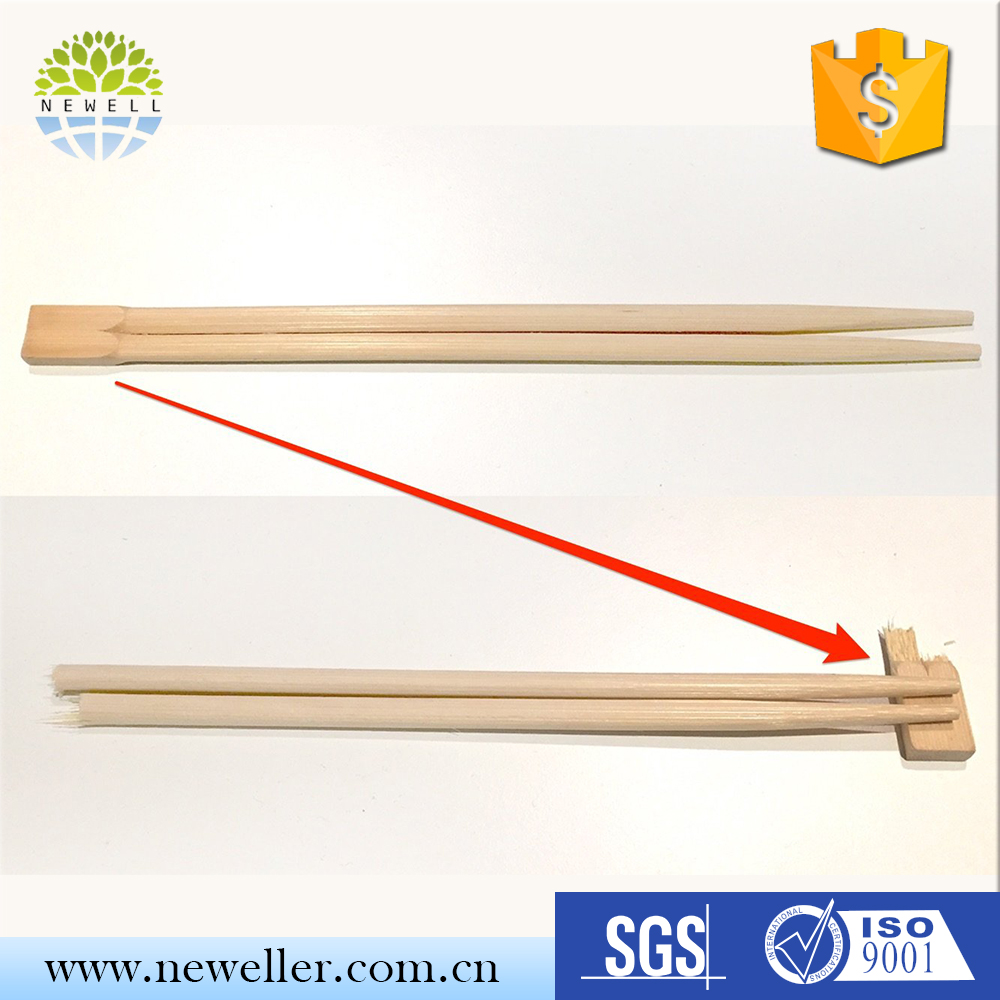 OEM Size direct factory left handed training chopsticks with silicone helper