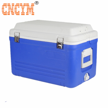 40L blow-molded plastic ice cooler box for cooler fishing camp