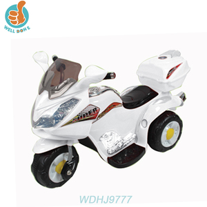 WDHJ9777 Nice Style Electric Baby Car Ride On Car RC Kids Toy Motos Happy Swing Car