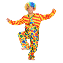 Holiday Party Variety Funny Clown Costumes Christmas Man Joker Costume