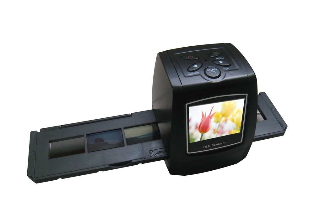 USB 2.0 35mm 5MP 2.36 inch TFT LCD Screen Film Scanner