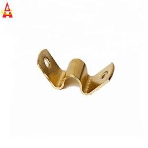 Fabrication Metal Hardware Stamping Part Brass U Shape Bracket